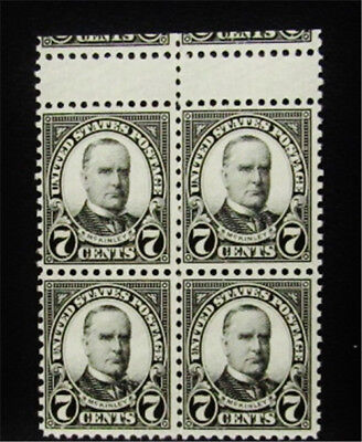 nystamps US Errors Freaks Oddities Stamp Mint OG NH Gutter Error Block Of 4