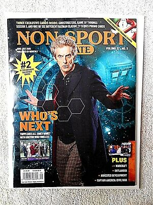 June/July. 2016 Non-Sport Update Magazine Dr. Who Cover Vol. 27 #3 (NO Cards)