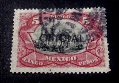 nystamps Mexico Stamp # O74 Used $125