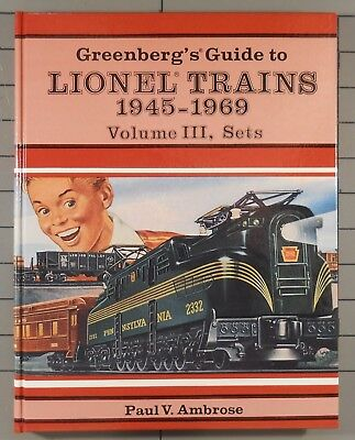 Greenberg's Guide to Lionel Trains 1945-1969 Volume III Sets