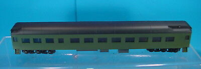 Bh S Scale American Models 80' Heavyweight Unlettered Diner/cafe Passenger Car