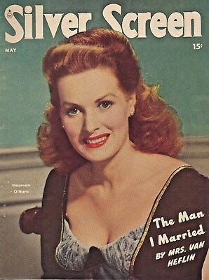SILVER SCREEN Magazine - May 1948 - Terry Moore - Janet Leigh