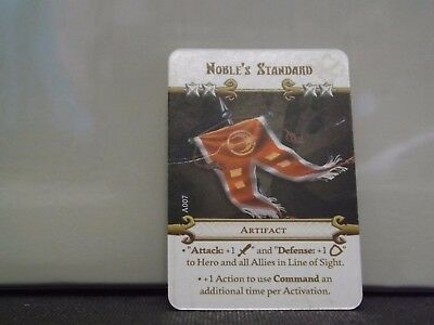 Massive Darkness - Noble's Standard - Artifiact Card CMON