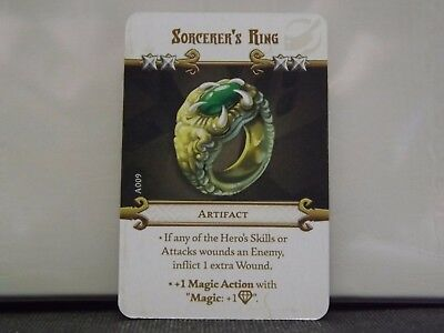 Massive Darkness - Sorcerer's Ring - Artifiact Card CMON
