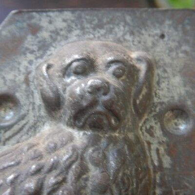 Chocolate Mold Great Looking Little Dog Half Mold Old Kitchenware Fine Details