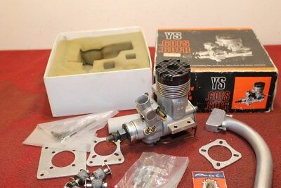Ys 60 Fs  + Mounting Plates Exhaust Header R/c Model Airplane Engine .60 Japan**
