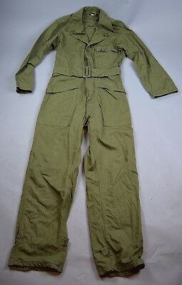 Post WW2/ Korean War US Army HBT Overalls O.D. 7 Mint Unissued