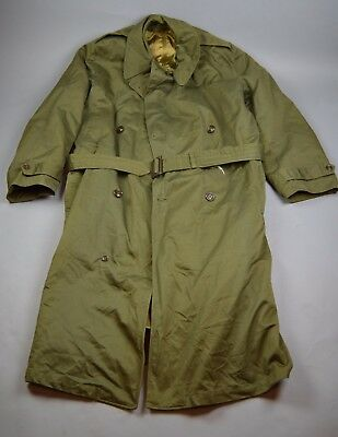 Post WW2/ Korean War US Army Overcoat w/ removable liner, size Long XL