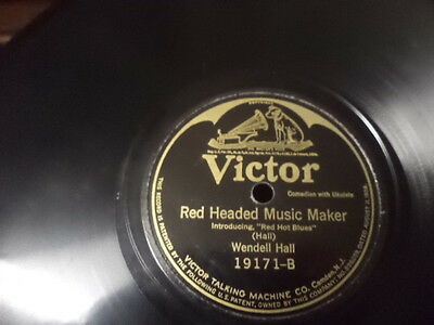 Early 20s VICTOR 78/Wendell Hall-Vocals w.Ukulele
