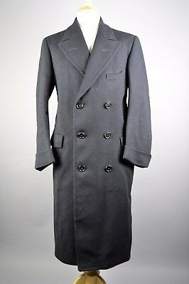 Early 1930s NRA Mens Vintage Overcoat, 42L