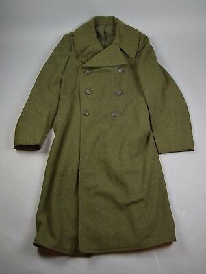 WWII USMC 4L 1940-1941 Overcoat, named to Guadalcanal 7th Marine Regiment