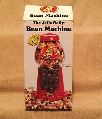 The Jelly Belly Bean Machine Metal & Glass Vending Machine New in Box