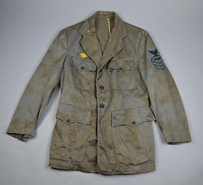WWII US Navy CPO Aviation Chief Machinist's Mate Gray Uniform
