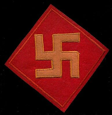 US Army 45th Infantry Division Patch S-12