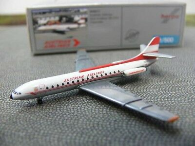 1/500 Herpa Sud Aviation Caravelle Austrian Airl 505017