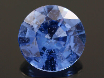 Natural Mine - Round Rich Blue Ceylon Sapphire 1.10 Ct.