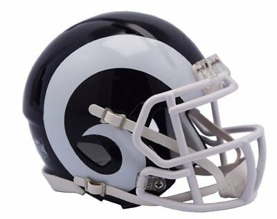 NFL Football Mini Helm Los Angeles L.A. RAMS Speed 2017 Footballhelm Helmet