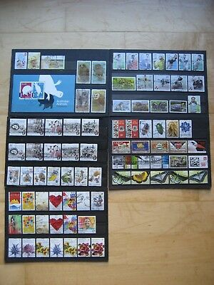 newest kiloware lot Australia 2016  used  82  stamps 1 mini sheet