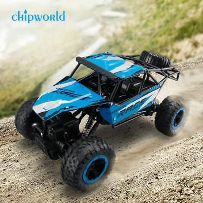 JJRC 2.4G 4CH 4WD Rock Crawler Car Truck 1:14 Off-Road Climbing Vehicle Toy New