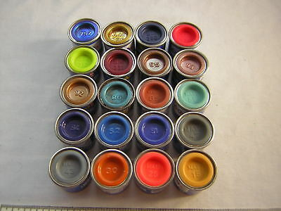 20 X New Revell Enamel 14ml Paints for Military Aircraft, Boats 1:72 1:76 1:35