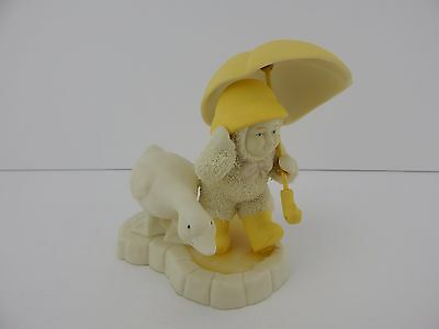 Dept 56 Snowbunnies Puddle Pals #26388 Retired Too Adorably Cute!