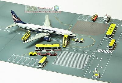Dragon Wings Herpa 1:400 Plane Model Airport Gse Taxi Ground Floor Sheet Gse_G