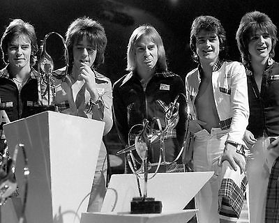 "Bay City Rollers 10"" x 8"" Photograph no 1"