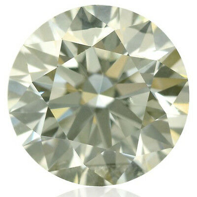 2.26ct VVS1/8.96mm OFF WHITE YELLOW COLOR ROUND LOOSE REAL MOISSANITE 4 RING