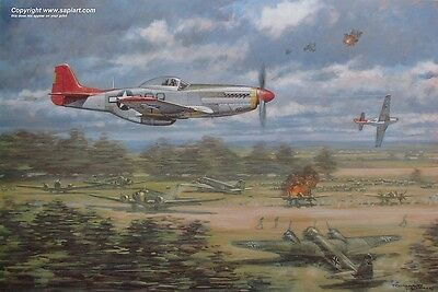Red Tails 332Nd Tuskegee Airmen Ronald Wong P51D Mustang