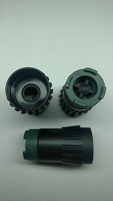 Jagermeister New style JEM bottle stoppers set of 3 Rare Jager Tap machine BAM