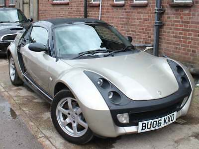 2006 Smart Roadster 80 2dr Petrol Black Bronze Automatic 80k Full Smart History