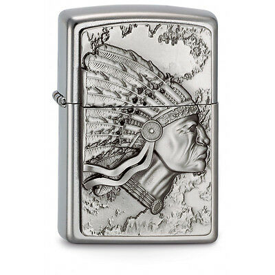 ZIPPO Indian Head special edition - rare emblem collectible lighter