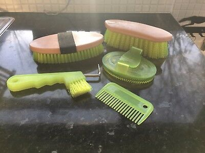 First Pony Grooming Set - Bright Green / Yellow