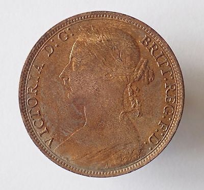 Victoria, penny, 1892, GEF with some lustre