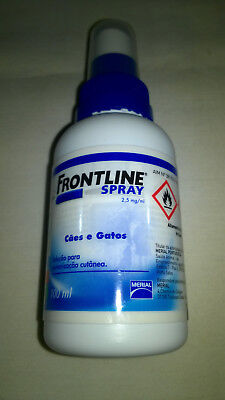 FRONTLINE  Spray 100ml (antiparasitic) For DOGS & CATS (Chiens Chats Gatti Cane)