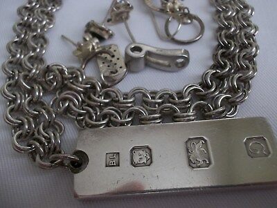 76.9g 925 STERLING SILVER JEWELLERY. SOLD AS SCRAP