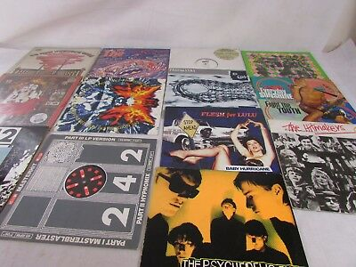"""Job Lot 12"""" Vinyls Including The Prodigy And More  ##str201Sd"""