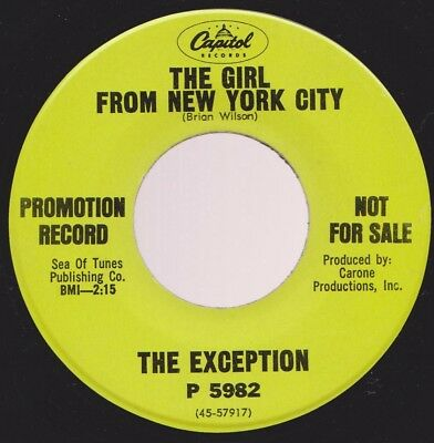 60s NORTHERN SOUL/PSYCH EXCEPTION GIRL FROM N.Y.C. CAPITOL DJ ORIG PETER CETERA