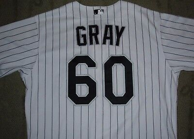 CHICAGO WHITE SOX JEFF GRAY 2011 GAME USED WORN JERSEY (A's CUBS TWINS MARINERS)