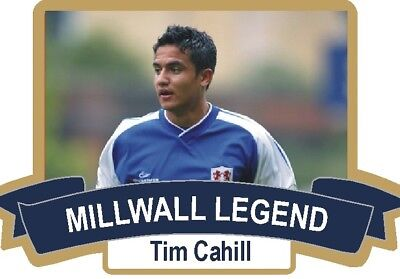 "Tim Cahill Limited Edition ""millwall ""rare Legend Badge"