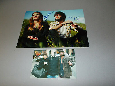 Angus & Julia Stone   signed signiert autograph Autogramm 20x28 Foto in person