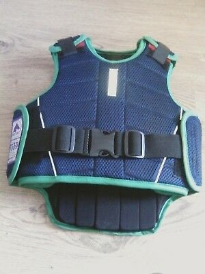 harryhall protective equestrian vest child size small