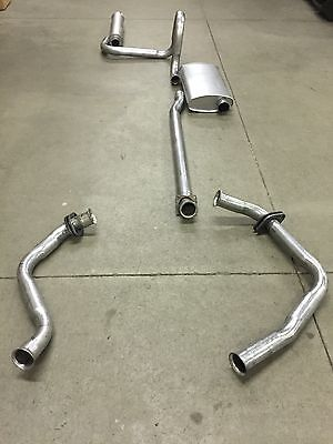 1975-1978 Cadillac Eldorado Exhaust System, Aluminized With Resonator