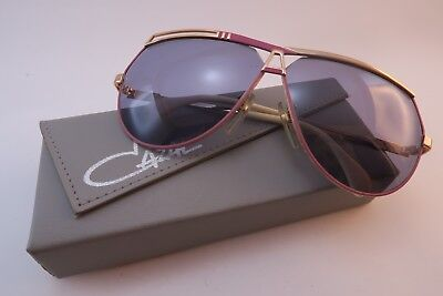 Vintage 80s Cazal sunglasses Mod 954 Col 359 pink made in West Germany