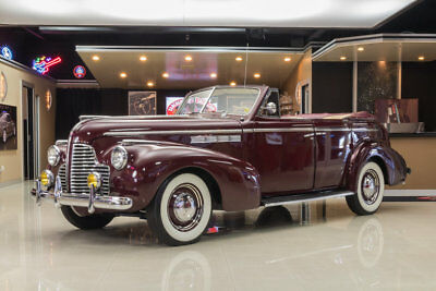 1940 Buick Special  port Phaeton 41-C! 1 of 542 Built, Dynaflash Inline 8, 3-Speed Manual, Rare!