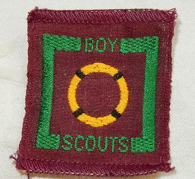 1947-1958 Senior Scout Badge Rescuer Scouting Patch Boy Scouts Mint