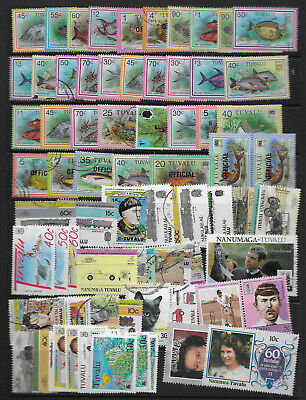 Tuvalu Lot Modern Mh/cto/used Stamps