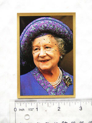 1991 Panini sticker Royal Family No. 42 Queen Mother