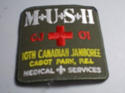 (Acy9-J) Medical Services Badge Cj'01 Unused  Canada Scout Badges
