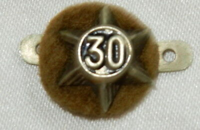 Vintage 30 Year Scouting Service Star Badge Boy Scouts
